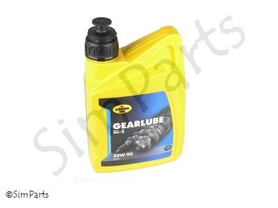 olie 80W90_transmissie Gearlube GL-5, Kroon-Oil
