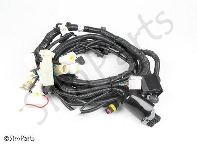 kabelboom (voorkant, instrumenten/verlichting)
